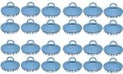 Century Shampoo Scalp Massage Brush #100 * Blue * 24 - Brushes