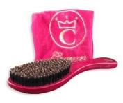 360 Gold Boar Bristle Crown Wave Brush #7770D Soft