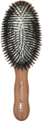 Acca Kappa Professional Pro Pneumatic Hair Brush, Oval, All Boar Bristle