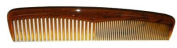 Tortoise Pocket Comb 12.7cm Half Regular And Half Fine Teeth