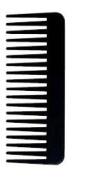 Salonchic 15.9cm Fluff Carbon Comb