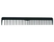 Strands 17.1cm Cutting with Sectioning Teeth Carbon Comb