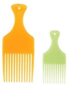 Comb Ultraclean * The Picks -one Large & One Small ** Assorted Colours