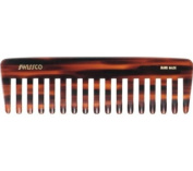 Swissco Tortoise Purse Comb Wide Tooth