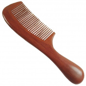 Handmade 100% Red Sandalwood Wood Comb Beautiful Aromatic Smell