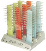 Double Take Brush/Comb Combo 9 Pc. Display