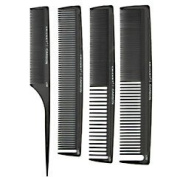 Cricket Stylist Carbon Comb 4 pack