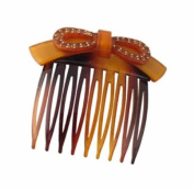 Premium Side Comb European Made in Tortoise 1249