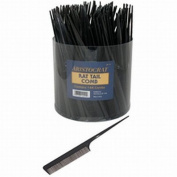 Aristocrat Rat Tail Combs In A Tub Container