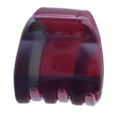 Camila Paris Red/Berry Print Hair Clip 2.5cm