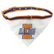 Pets First Illinois Fighting Illini Bandana - Small
