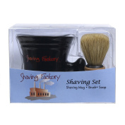 Shaving Factory Shaving Mug Set, 470ml