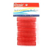 Annie Self-Gripping Rollers 6 Count Red #1309
