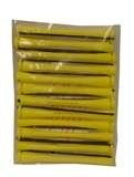 Hairart Yellow Regular Perm Rods3/16 One Dozen