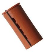 Jumbo Concave Perm Rods * Brown * 3.8cm Diameter * 6 Rods Per Bag