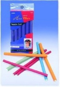 HAIR WARE 1.3cm Twist 'N Curl Blue (Model