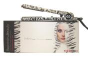 Beyond the Beauty Zebra 3.2cm Ceramic Ionic 450F Flat Iron / Hair Straightener Dual Voltage 110v- 240v + Flat Iron Holder