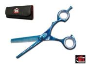 15.9cm Blue CUT Brand Pro Hair Thinning Shears Scissors German Steel 2106BC
