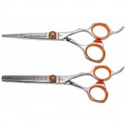 Tsurikomi KT25.4cm & KT10 30 tooth Professional Hair Shears Barber Scissors COMBO