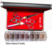 Kamisori Professional Shear Titanium Trio Set J-32s 5.75â..+ Itay Beauty Mineral Nature Beauty 8 Stack Eye Shadow Shimmer