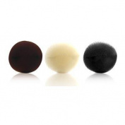 Luxor Pro Hair Foundations - Bun 10.2cm Round Hair 1 Piece