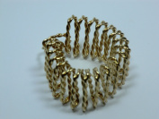 Charles J. Wahba - Twisted Wire Ponytail Holder Gold plated