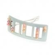 Counting Colour Beaded Barrette