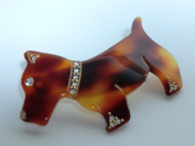 Charles J. Wahba - Puppy Dog Barrette with. Rhinestones