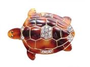 Charles J. Wahba - Turtle Shaped Barrette with. Rhinestones