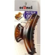Scunci No Slip Grip All Day Hold Hair Claw Clip Jaw for Thick Hair