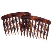 DCNL Tortoise Side Comb For Fine Hair