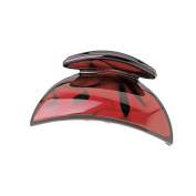 Red Sophistication Claw Clip
