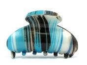 Henrietta Blue Hair Claw - 7.5 cm