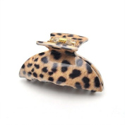 [Aznavour] Lovely & Cute Leopard Kia Claw Hair Pin / Brown #CLdmp413.