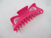 Large Claw Hair Clips Jumbo Hair Clips (Pink) 12.7cm
