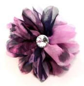 Purple Pin Clip Fleur - Laliberi