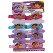 Dora the Explorer Hair Barrettes ~ 8 pc Set