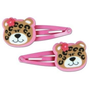 Stephen Joseph Leopard Hair Clips