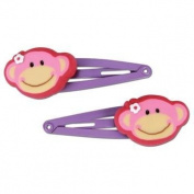 Stephen Joseph Monkey Hair Clips