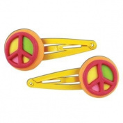 Stephen Joseph Peace Hair Clips