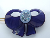 Little Girl Blue Bird Gorgeous Hair Clip Pin,Easy Way Snap On-Heavy Duty Material with. Crystal Throughout. 3.2cm w x 5.1cm L ,Elegant Design ,Super Saving w/100% Satisfaction Guaranteed!