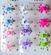 Colourant Butterfly Barrettes