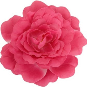 Large Pink Flower Pin Brooch
