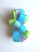 Flower Ribbon Clip