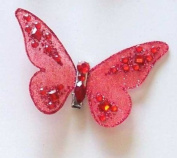 Red Butterfly Clip