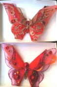 3D Jewelled Butterfly Clip