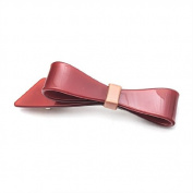 [Aznavour] Lovely & Cute Colour Ribbon Hair Pin / Brown #PP1408G.