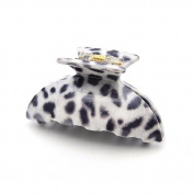 [Aznavour] Lovely & Cute Leopard Kia Claw Hair Pin / Grey #CLdmp413.
