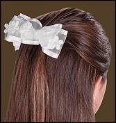 First Communion Hair Bow 6pcs