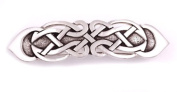 St Justin, Pewter Figure Of Eight Knot Hair-Slide